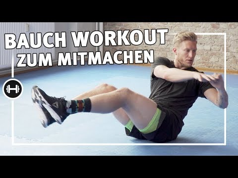 Bauchmuskeltraining für zuhause   8 Minuten   Übungen & Workouts   Sport-Thieme