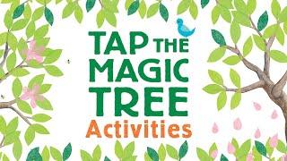 Tap The Magic Tree Activities | DIY Art For Kids