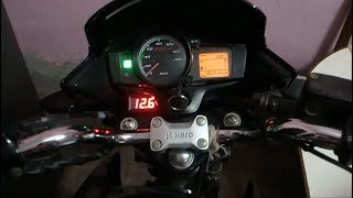 How to install voltmeter in bike | Hero passion xpro