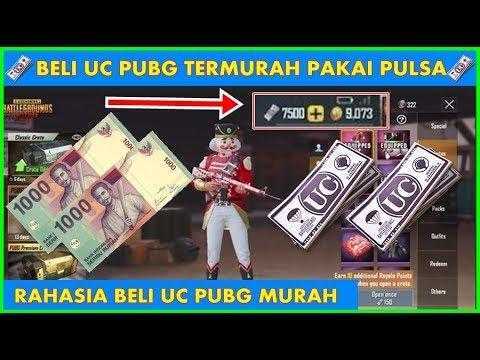 BUKTI NYATA!!! Cara Beli UC PUBG Mobile Murah Pakai Pulsa 2019