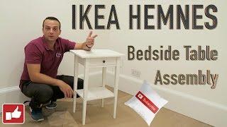 IKEA HEMNES BEDSIDE TABLE Assembly