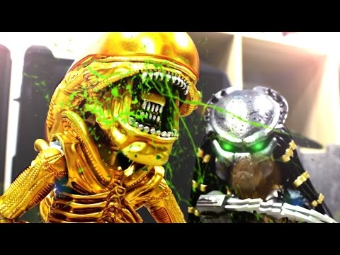 Alien VS Predator Stop Motion