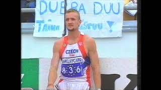 European Helsinki Decathlon 1994 - High Jump Tomáš Dvořák 205cm