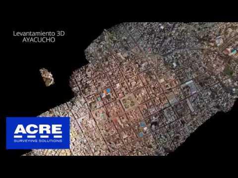 Levantamiento 3D de la ciudad de Ayacucho con Mobile Mapping