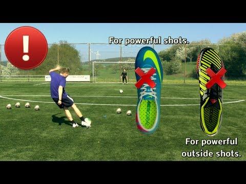 これで君もパワーシューターに!強いボールを蹴る方法