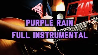 """Purple Rain"" - A Tribute to Prince (Full Song Instrumental) by Jack Thammarat"