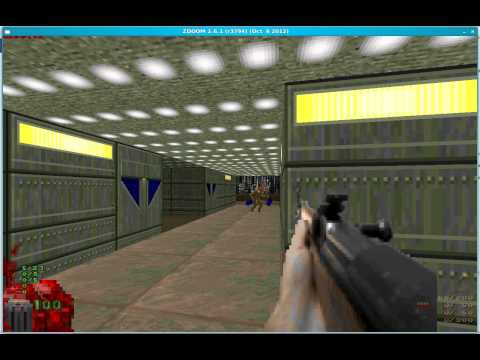 SKS weapon mod in ZDooM - With fucked up graphics
