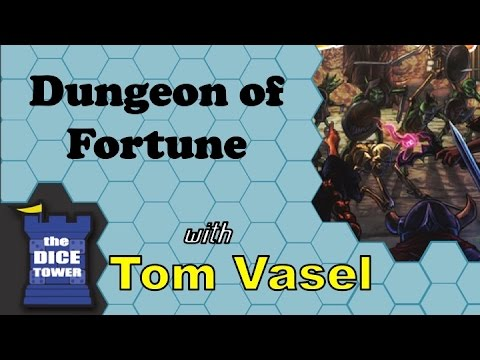 Dice Tower Reviews: Dungeon of Fortune