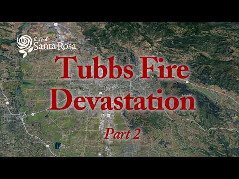 Tubbs Fire Devastation in Santa Rosa with Brian Hoyt - Part 2