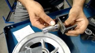 Kart Cross Construção Artesanal FASE 12 - Cubos Dianteiros