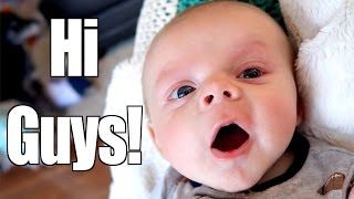 BABY LEARNING TO TALK!