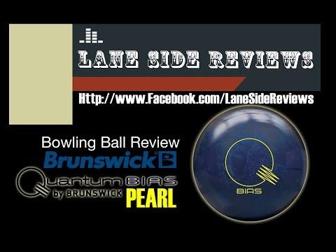 Brunswick QUANTUM BIAS PEARL Bowling Ball Review By Lane Side Reviews