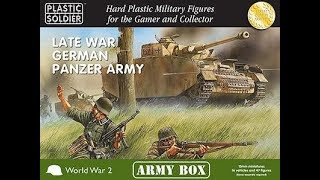 Plastic Soldier Company - Late War German Panzer Army # PSCAB15001