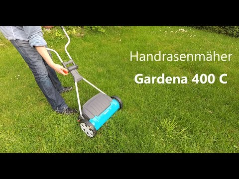 ❤️ GARDENA Spindelmäher REVIEW TEST 400 C