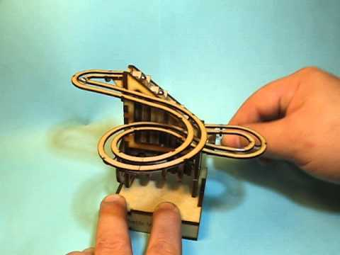 Diy Laser Cut Desktop Marble Machine Boing Boing