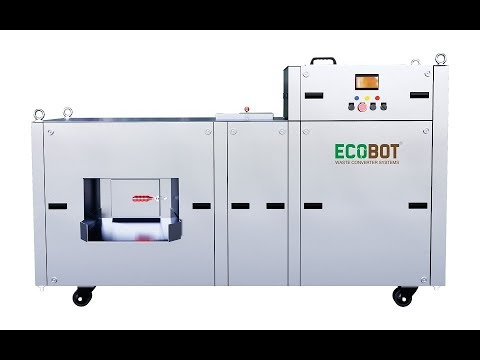 Ecobot-EB-25 India''s Most Advance Automatic Waste Converter
