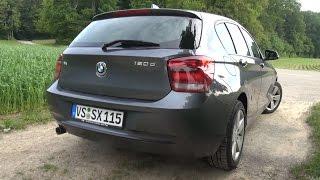 2015 BMW 120d F20 (184 HP) Test Drive