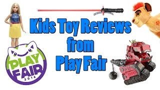 Kids Toy Reviews From Play Fair NY For TTPM