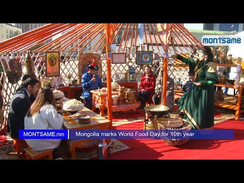 Mongolia marks World Food Day for 10th year