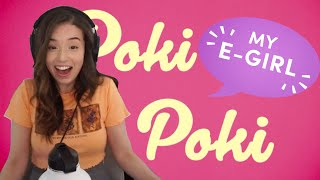 """I WROTE POKIMANE A SONG AND IT GOT STUCK IN HER HEAD!! - """"POKI POKI"""" LIVE REACTION"""