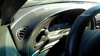 Anti-theft light on Mustang how to reset ecu!!WATCH ALL THE VIDEO STEP BY STEP!!