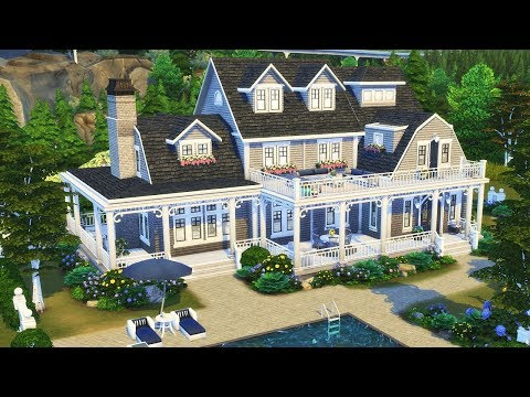 Delgato Family's Home || The Sims 4: Speed Build