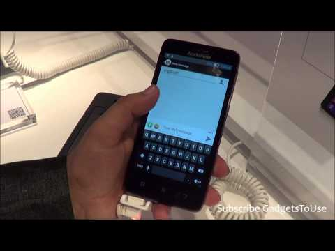 Lenovo S660 Hands on, Quick Review, Camera, Features and Overview HD at MWC 201