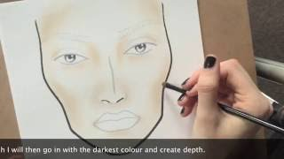 Facechart Tutorial Part I: Shading the Face