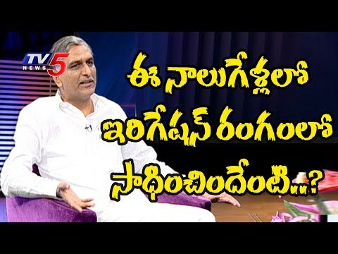 Minister Harish Rao Exclusive Interview