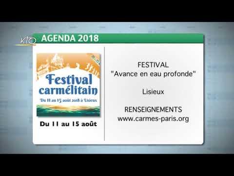 Agenda du 25 juin 2018