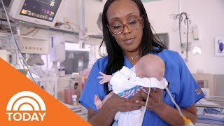 NICU Nurse Sandy Content On Having The 'Greatest Job' In The World, Even On The Bad Days | TODAY