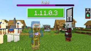 ВЫШЕЛ НОВЫЙ Minecraft PE 1.11.0.3 (Бета) - ДОБАВИЛИ РЕЙДЫ + МОЗГИ ТОРГОВЦУ!