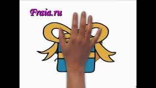 Пример простейшего дудл-видео, созданного с помощью VideoScribe
