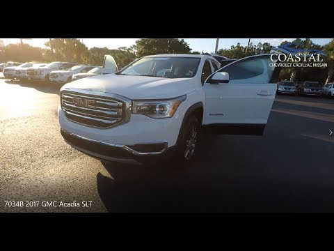 Pre-Owned 2017 GMC Acadia FWD 4dr SLT w/SLT-1