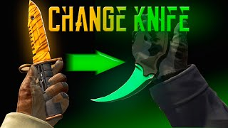 How to make cs go knife skins cs go сервер со скинами