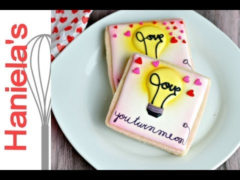 YOU TURN ME ON VALENTINE'S DAY COOKIES, HANIELA'S