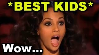 Top 10 *BEST & MOST AMAZING* Kids Auditions Ever on BRITAIN