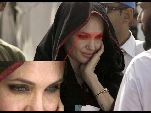 Angelina Jolie Illuminati Ritual Video