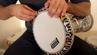 How to tune the Doumbek - Doumbek Replace Skin - Doumbek Solo - Doumbek Lessons