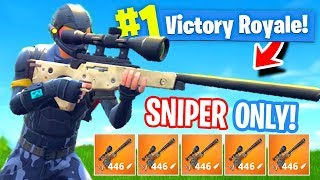 *NEW* Sniper ONLY Mode In Fortnite: Battle Royale