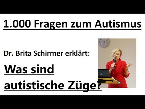 Was sind autistische Züge?