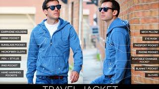 Jacket Wind Multifungsi Traveler Baubax Windbreaker - Jaket Gunung Waterproof Keren