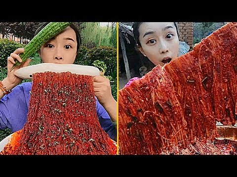 Download Super Spicy Food Eating Noodles Show Collection #3 - Chinese Food #ASMR #MUKBANG HD Mp4 3GP Video and MP3