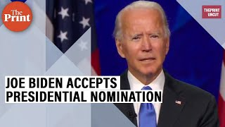 Joe Biden full speech as he officially accepts presidential nomination at DNC - Download this Video in MP3, M4A, WEBM, MP4, 3GP