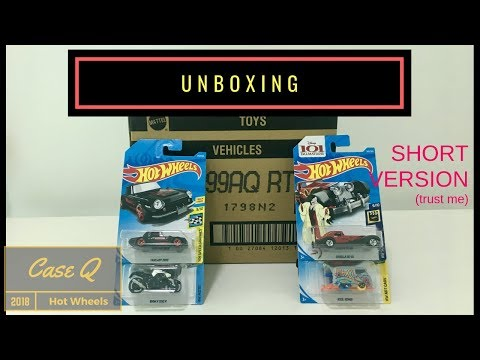 Shorts : Unboxing - Hot Wheels Case Q 2018