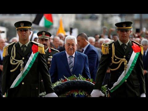 العرب اليوم - بالفيديو:عباس يتوعد حماس ويتهمها بالتآمر لتعطيل قيام الدولة الفلسطينية