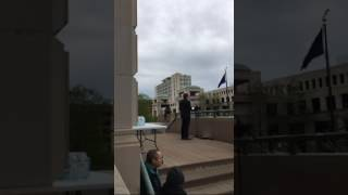 Jason Rylander Speaks to March for Science in Indianapolis (4/22/17)