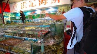 Insane Fish Market In China -- China D.2