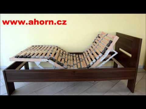 Video Ahorn Lamelový rošt Portoflex Motor Mega s bezdrátovým ovládáním Rozměr: 80 x 200 cm 2