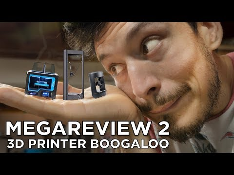 FLSUN QQ, Xinkebot Capsule, Qidi Tech X-Pro // 3D Printer Mega Review 2